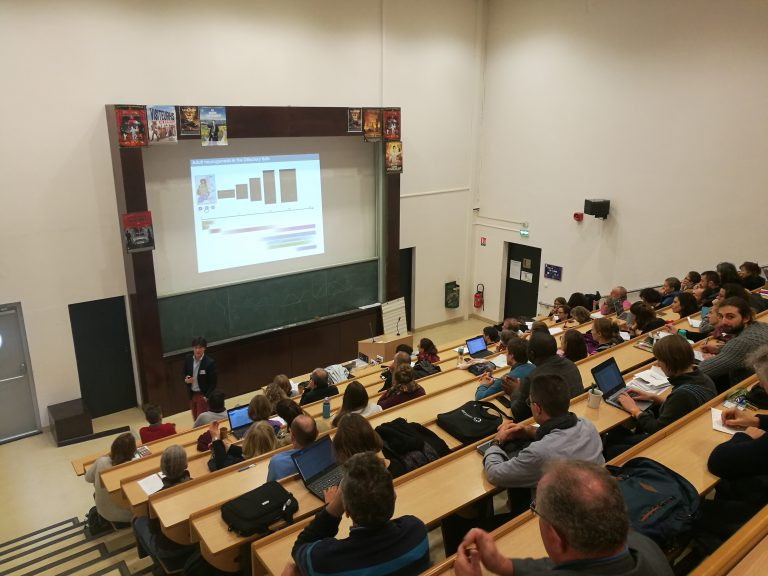 Conférence de Gabriel Lepousez, Unité « Perception et Mémoire » de l'Institut Pasteur, sur « Comment le microbiote intestinal influence la plasticité du cerveau et les comportements ».
