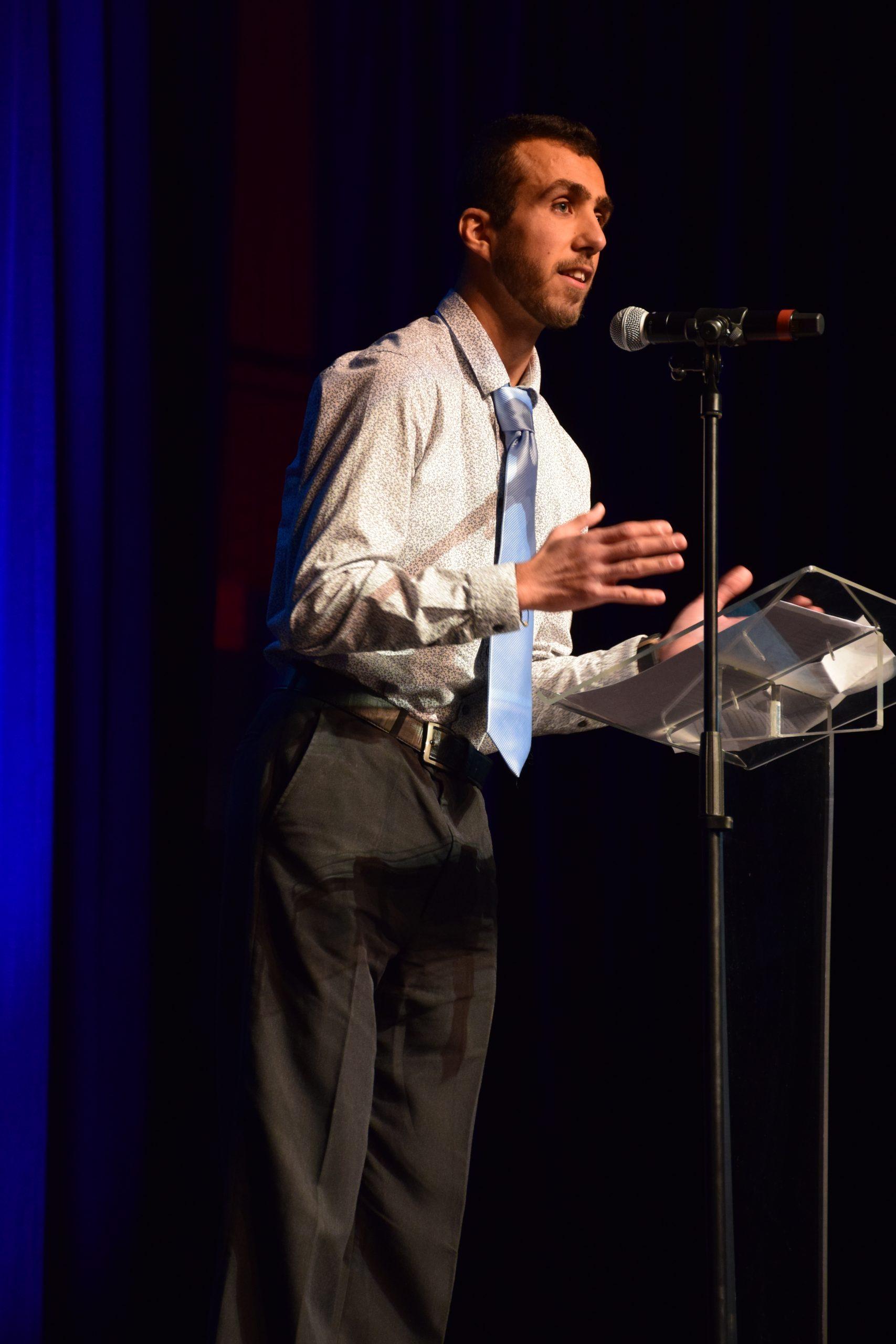 Témoignage de Khaled Amin, étudiant international d'origine syrienne, qui a intégré la formation via le concours DE.  Crédit photo : ©Club photo CDA