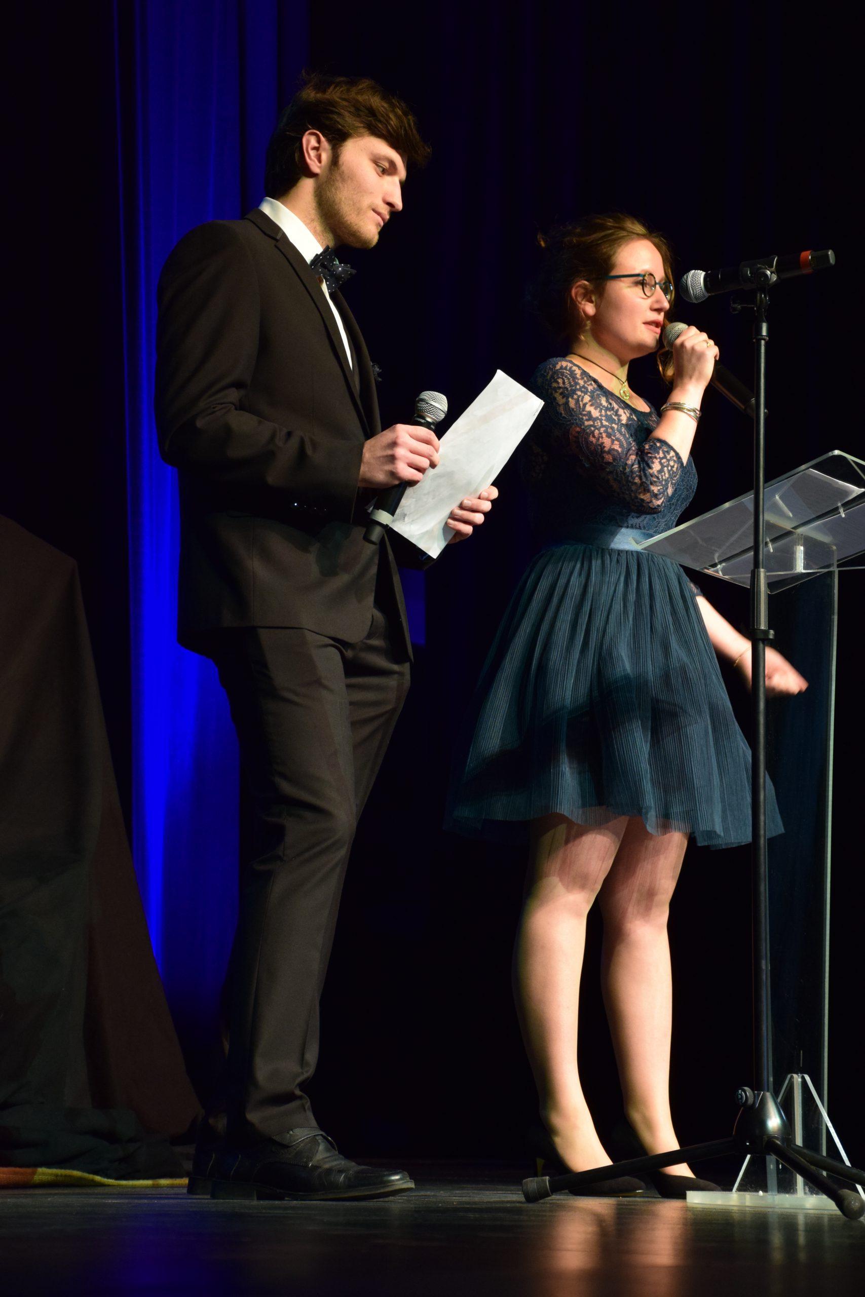 Interventions des diplômés : Gaëtan Chapolard et Juliette Jay pour l'option Ecoterr.  Crédit photo : ©Club photo CDA