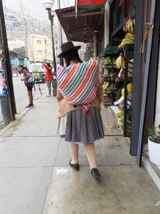 Una mama peruana en Chosica